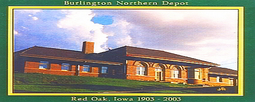 The Restored Burlington Northern Depot & WWII Memorial Museum